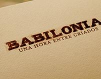 """Afiche para obra teatral """"Babilonia"""" de Roberto Mosca"""