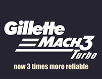 Gillette Mach3 Turbo: Identity Matters