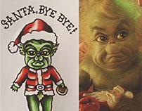 Christmas Eve bonus! Baby Grinch kewpie 💚💚💚🎅