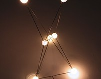 Astrohedron (Orion) light sculpture