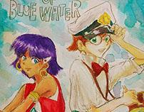My favprite cartoon drawing - The Secret of Blue Water