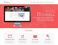 Deikov - Web Design