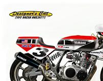 """YAMAHA XS 750 """"RIVERSIDE"""""""