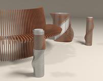 Urban architecture/ City furniture