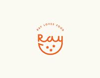 Ray loves food
