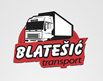 Logo - Blatesic transport - graphic design