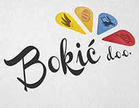 Visual identity of the Bokic business company