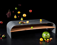 Paulsberg Habitat - concrete coffee table »Fruits«