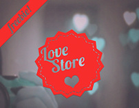 Love Store — free HTMLtemplate