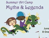Art Center Summer Camp Brochure