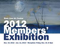 Art Center Exhibition Postcard