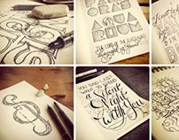 Lettering, Sketches & Doodles