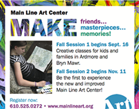 Art Center Fall Sessions Ad