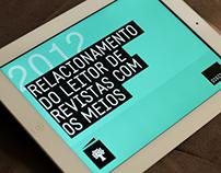 Annual report: Media X Reader - iPad