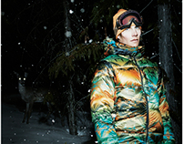 "Nike ACG - HO08 Print campaign Pendleton ""Spotted"""