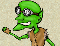 Gobbo, the goblin