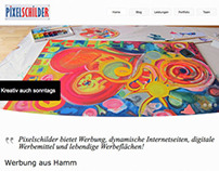 Website Pixelschilder