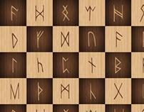 Viking Chess Board