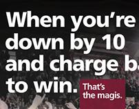 NCAA Tournament Program Ad