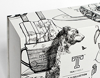Teastreet Packaging Illustrations