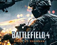 Siege of Shanghai - Battlefield 4 fan art.
