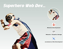 Superhero Web Developer