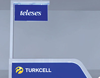 Turkcell Teleses Stand