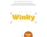 Winky Almonds - Packaging & Print Ads