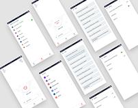 VPN Mobile UI/UX Design