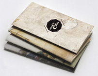 Visual Identity for a vintage brand of kilt.