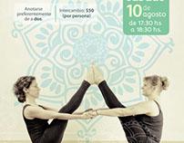 Afiches eventos y promociones - Mandaras Spa Urbano