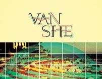Van She poster for Launch Music Festival Poster Series