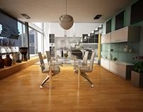 Minimalism interior villa
