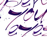 4 English Calligraphy