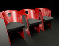 """Armchair """"OPERA"""" with soft seat"""