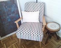 Armchair make-over by Aline Brandelet