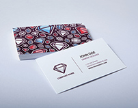 Colored Diamond - Business Card