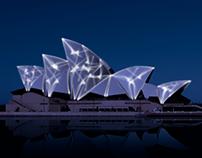 Sydney Opera light project