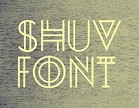 SHUV FONT