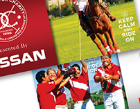 Nissan USA Charity Polo Event Branding