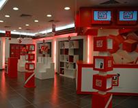 Kube3 retail store design 2007