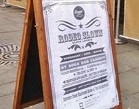 Soda Bar event poster for musician Krystal Mills