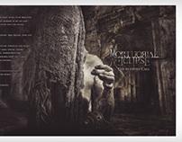 Mortuorial Eclipse Booklet Artwork