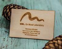 Owl. On Wood Laboratory