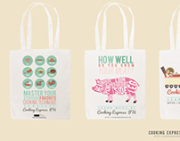 Cooking Express PH Tote Bags