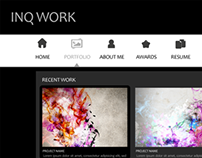 Inq Work - Portfolio Website Demo