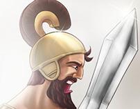 Gilgamesh vs Jumbaba