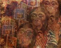 Zippy The Chimp Digital Collages