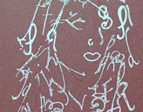 Face of Fonts/Self Portrait