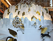 Christmas Wonderland ,window display & packaging